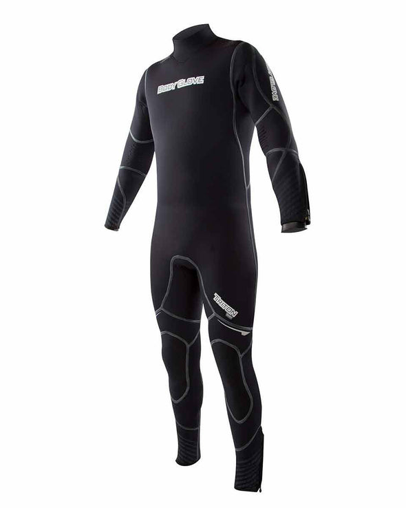 Triton 5mm Men's Back-Zip Fullsuit - Black