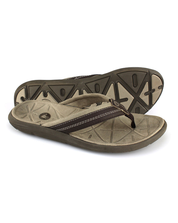 Men's Quest Sandal in Brown/Brindle