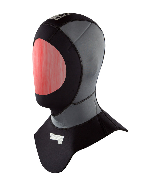 Triton 6/3mm Hood with Bib