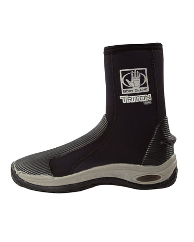 Triton 6mm Round-Toe Boot