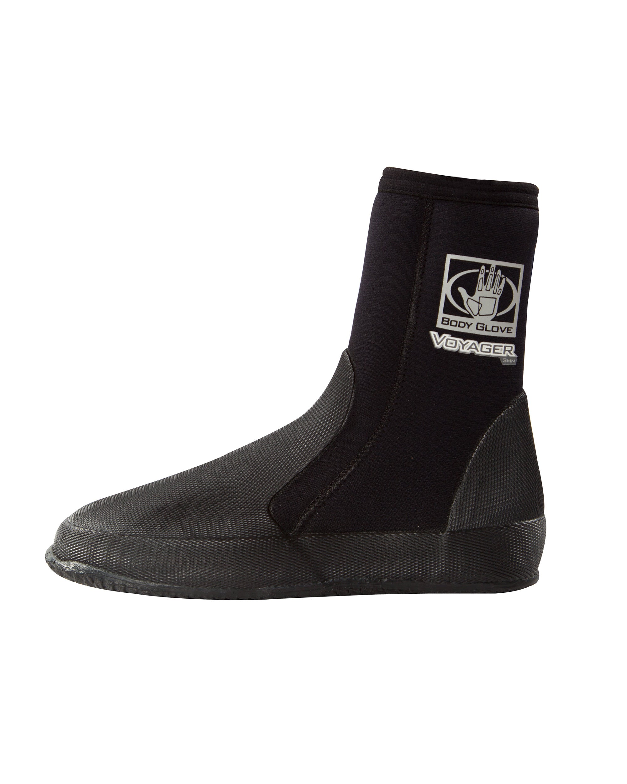 Voyager 5mm Round-Toe Boot - Black