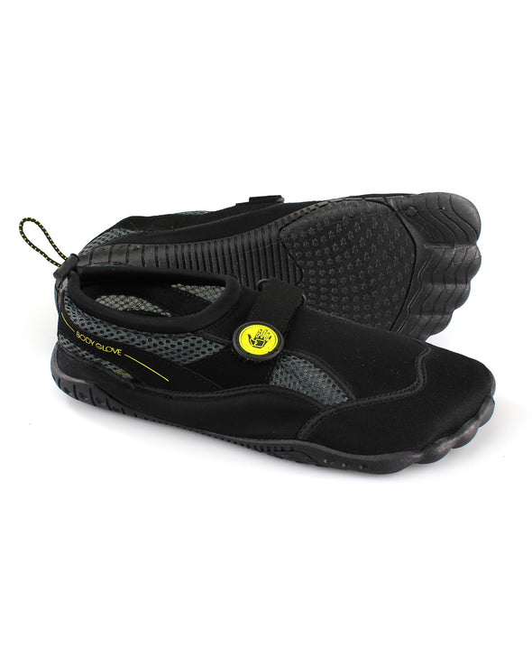 Men's Seek Water Shoes in Black/Yellow