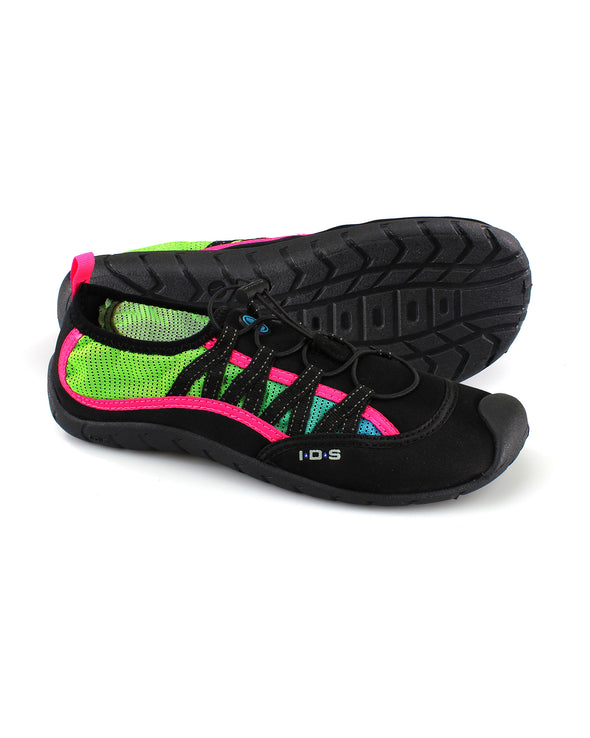 Women's Sidewinder Water Shoes - Faded Neon Blue/Neon Green