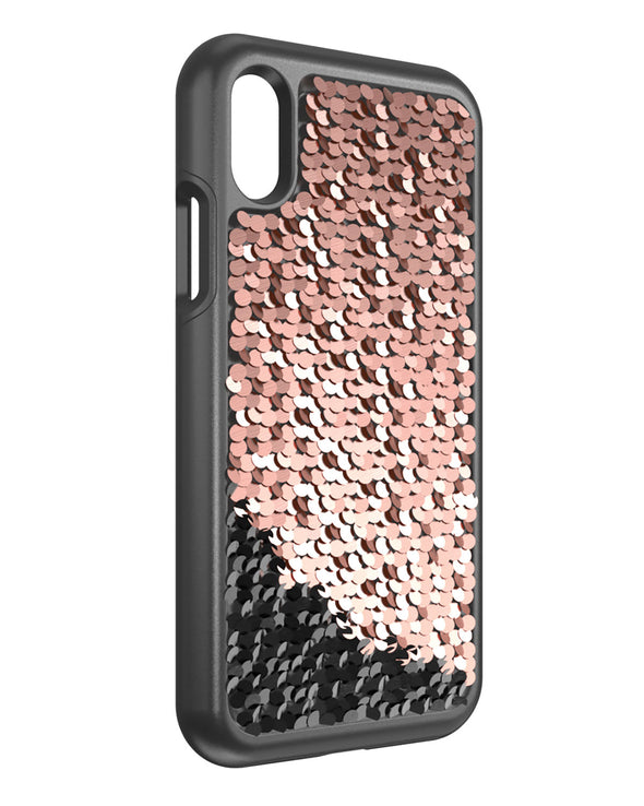 Shimmer Case for iPhone X - Gold/Silver