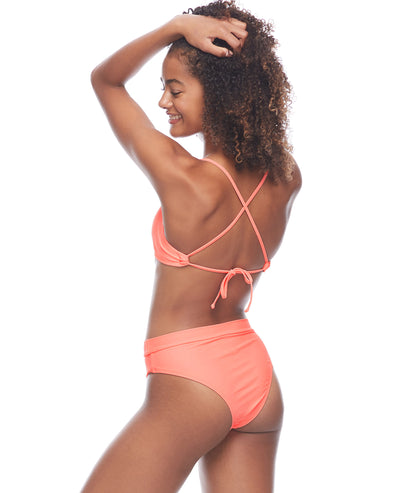 Smoothies Marlee High-Waist Bikini Bottom - Splendid