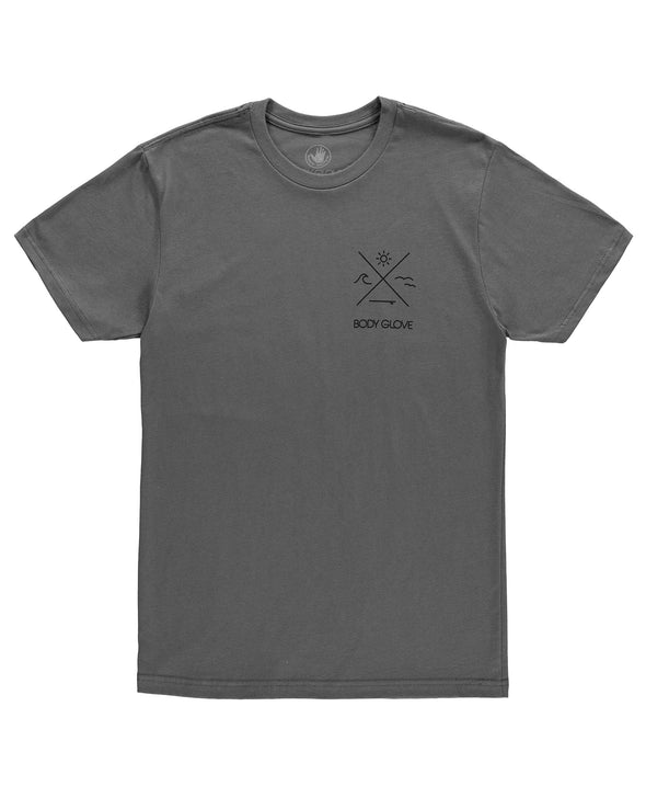 Men's Balance Heather T-Shirt - Grey