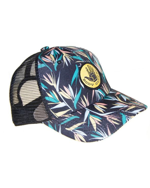 Printed Fauna Trucker Hat - Multi