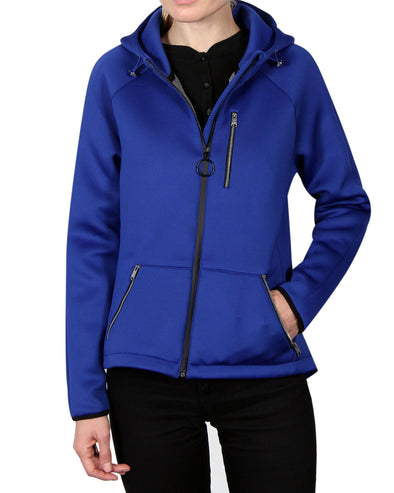 Women's Scuba-Stretch Jacket - Surf Blue