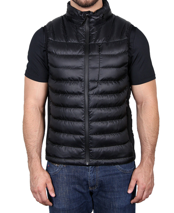 Men's Down Vest - Black