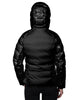 Women's Hooded Down Parka Coat - Black
