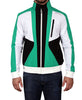 Men's Tri-Color Soft Shell Jacket - Green