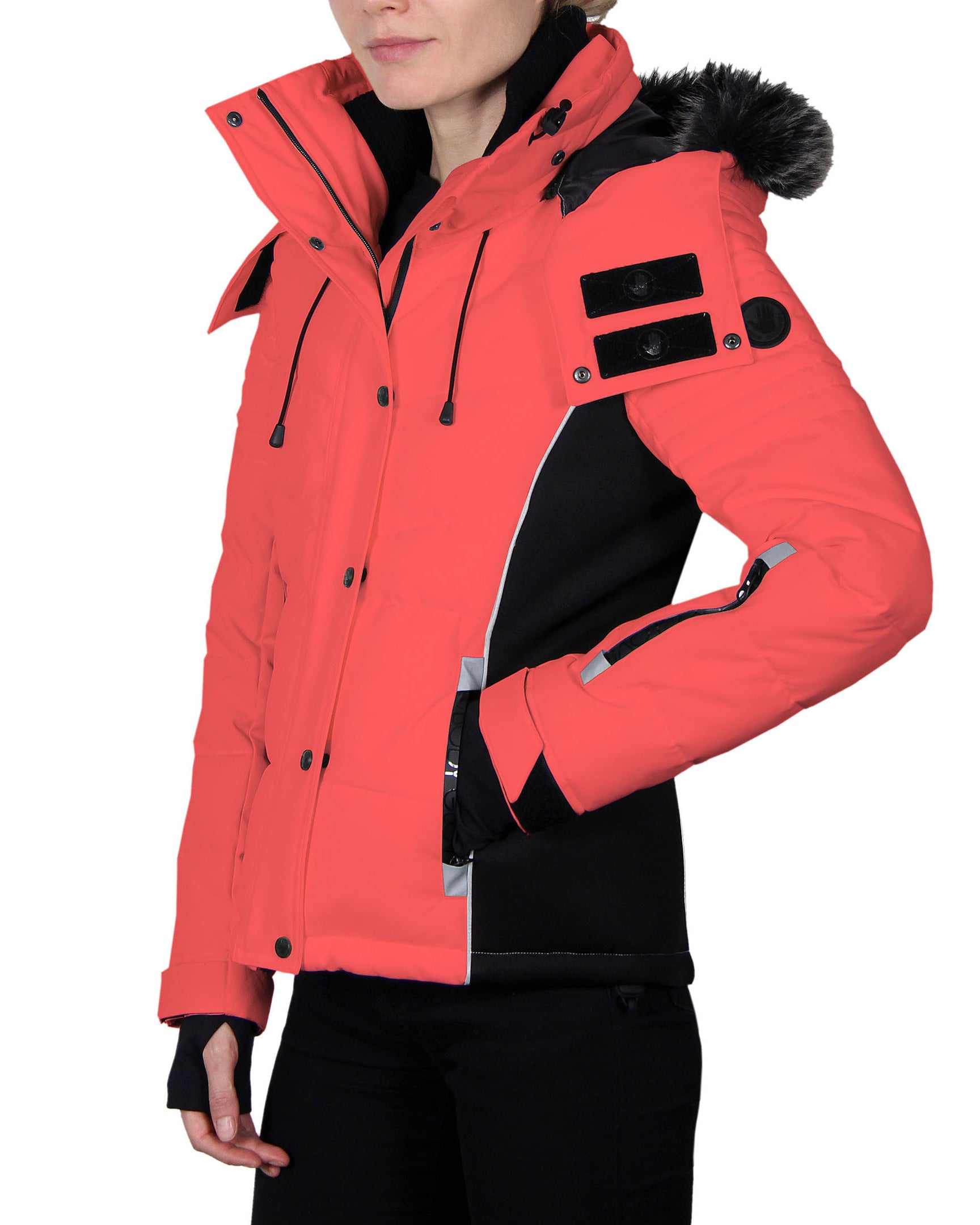 Women's Snow-Sports Jacket - Bright Vivo