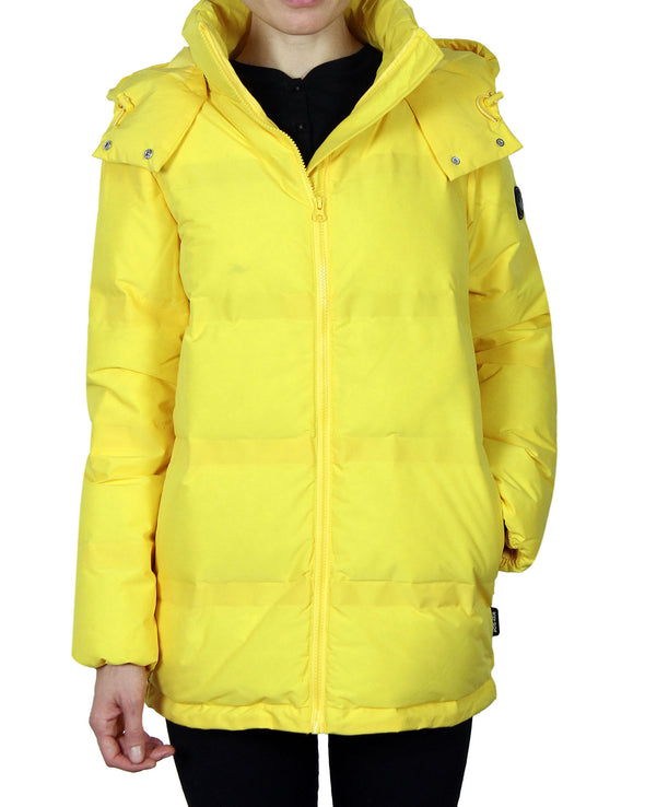 Women's Quilted Down Parka Coat - Dandelion