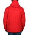 Men's All-Season Snowboard Ski Jacket -  Red/Black