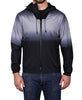 Men's Ombre Lightweight Hooded Jacket - Grey