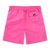 Men's Contrast E-Board Swim Short - Pink/Blue