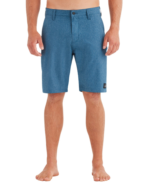 Men's Stretch Chambray Hybrid Swim Short - Poseidon
