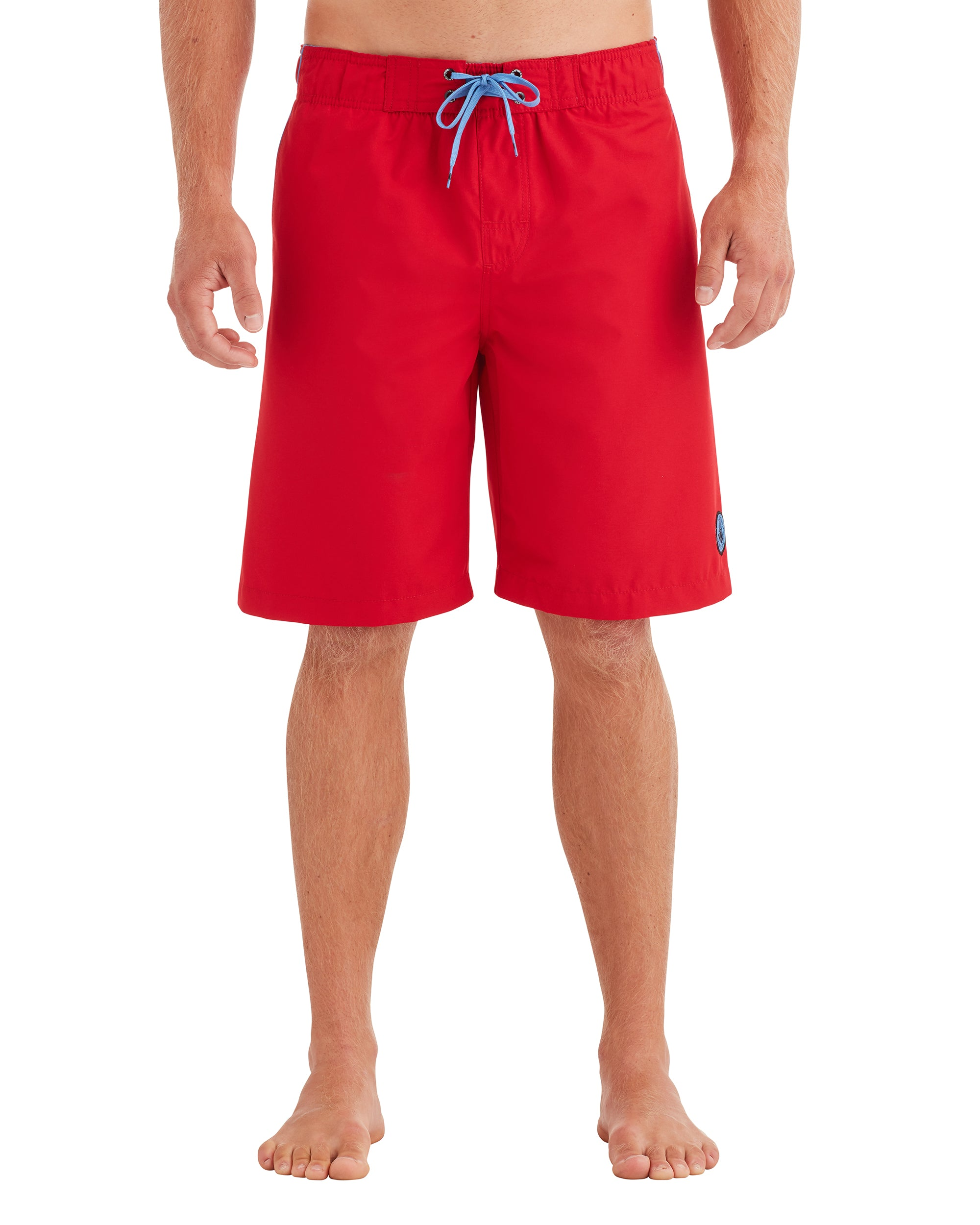 Men's Pipeline Swim Short - Red/Blue