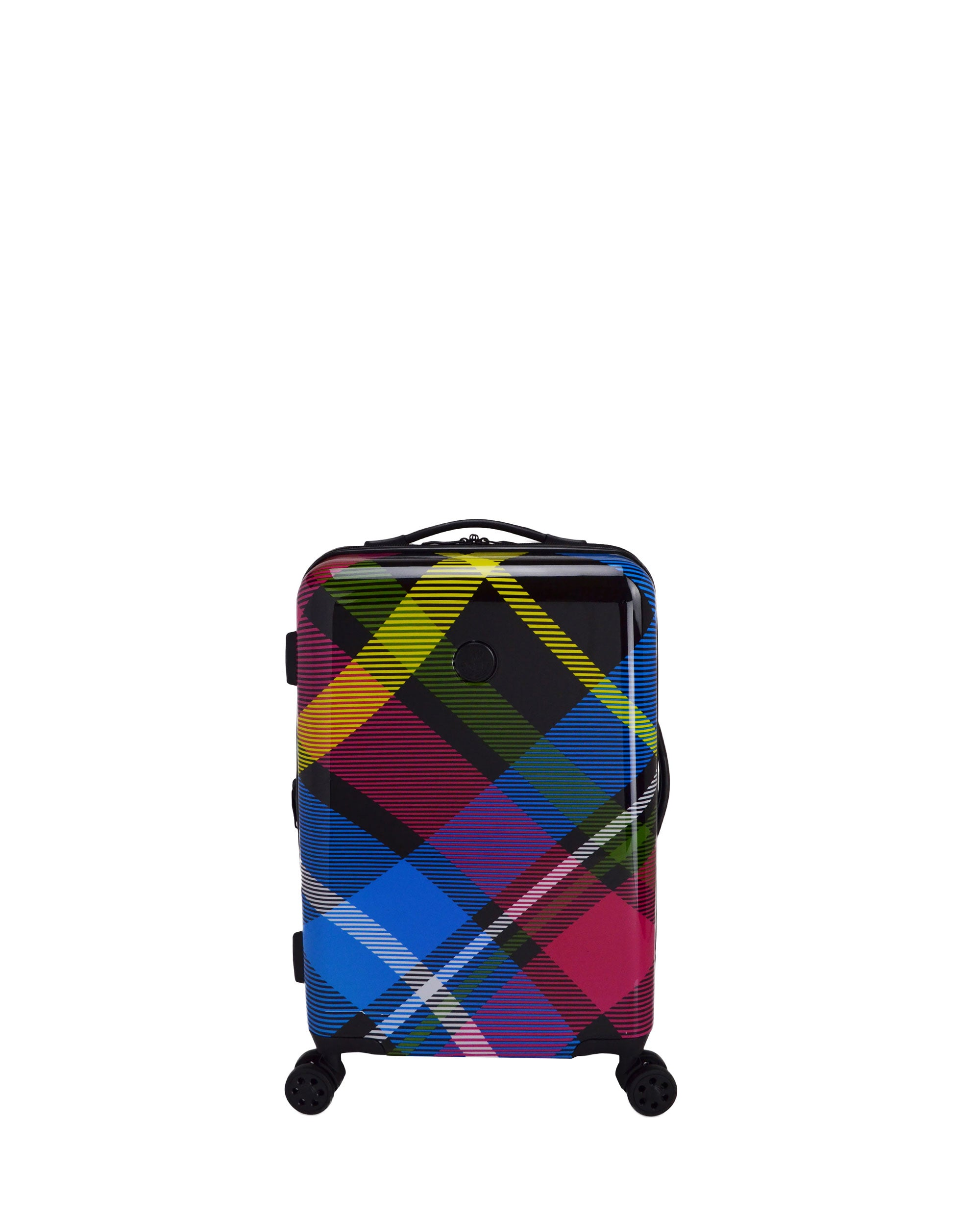 "Tartan 22"" 8-Wheel Hardside Spinner Luggage - Multi"