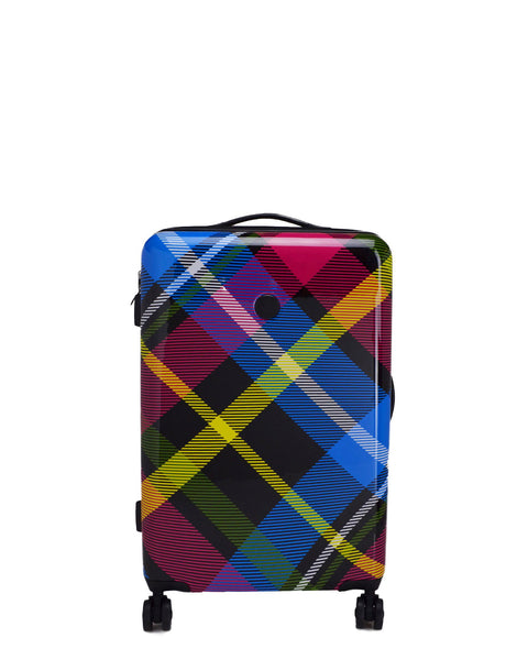 "Tartan 26"" 8-Wheel Hardside Spinner Luggage - Multi"
