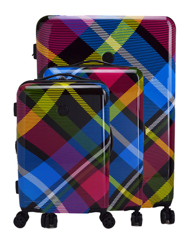 Tartan 3-Piece Hardside Spinner Luggage Set - Multi