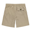 Men's Elastic Button-Front Swim Short - Beige