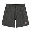 Men's Elastic Button-Front Swim Short - Olive