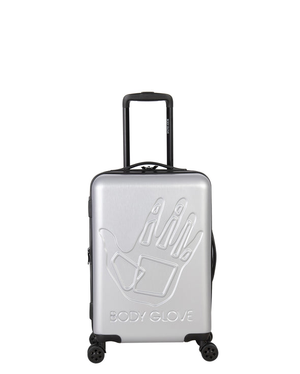 "Redondo 22"" Hardside Luggage - Silver"