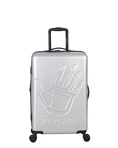 "Redondo 26"" Hardside Luggage - Silver"
