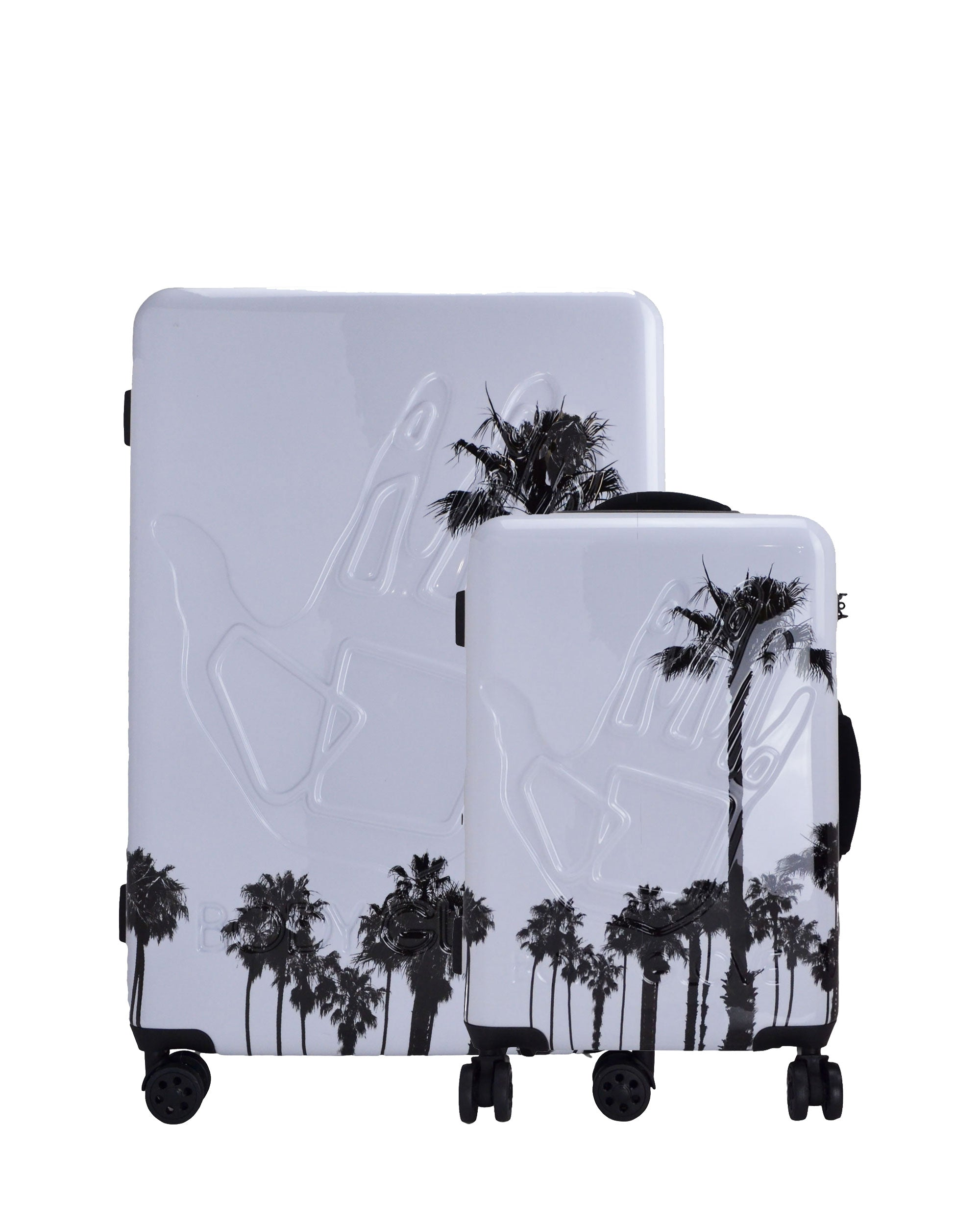 Redondo 2-Piece Hardside Luggage Set - White