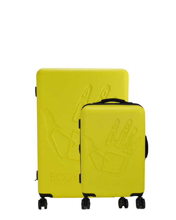 Redondo 2-Piece Hardside Luggage Set - Yellow