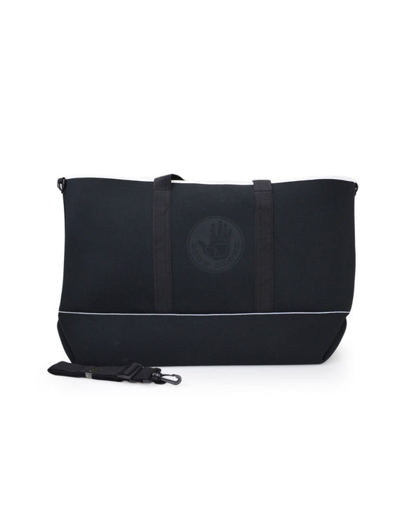 High Tide Medium All-Day Tote - Black/White