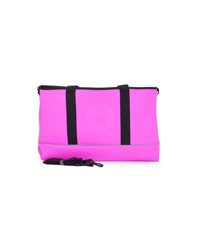 High Tide Medium All-Day Tote - Pink/Black