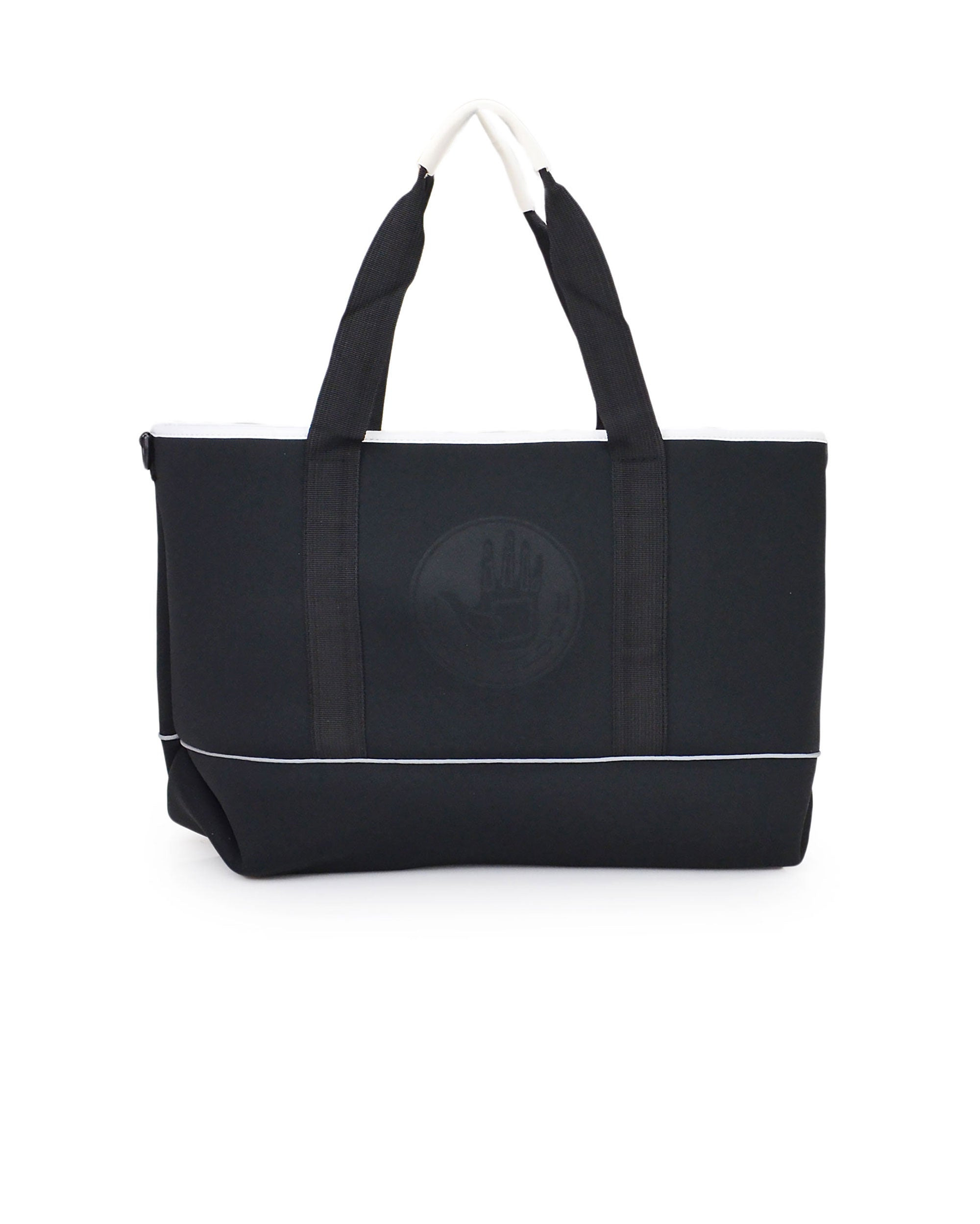 High Tide Large All-Day Tote - Black/White