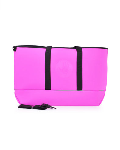 High Tide Large All-Day Tote - Pink/Black