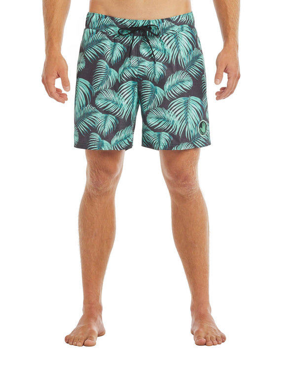 Men's Seaside 17-Inch Swim Short -  Turquoise