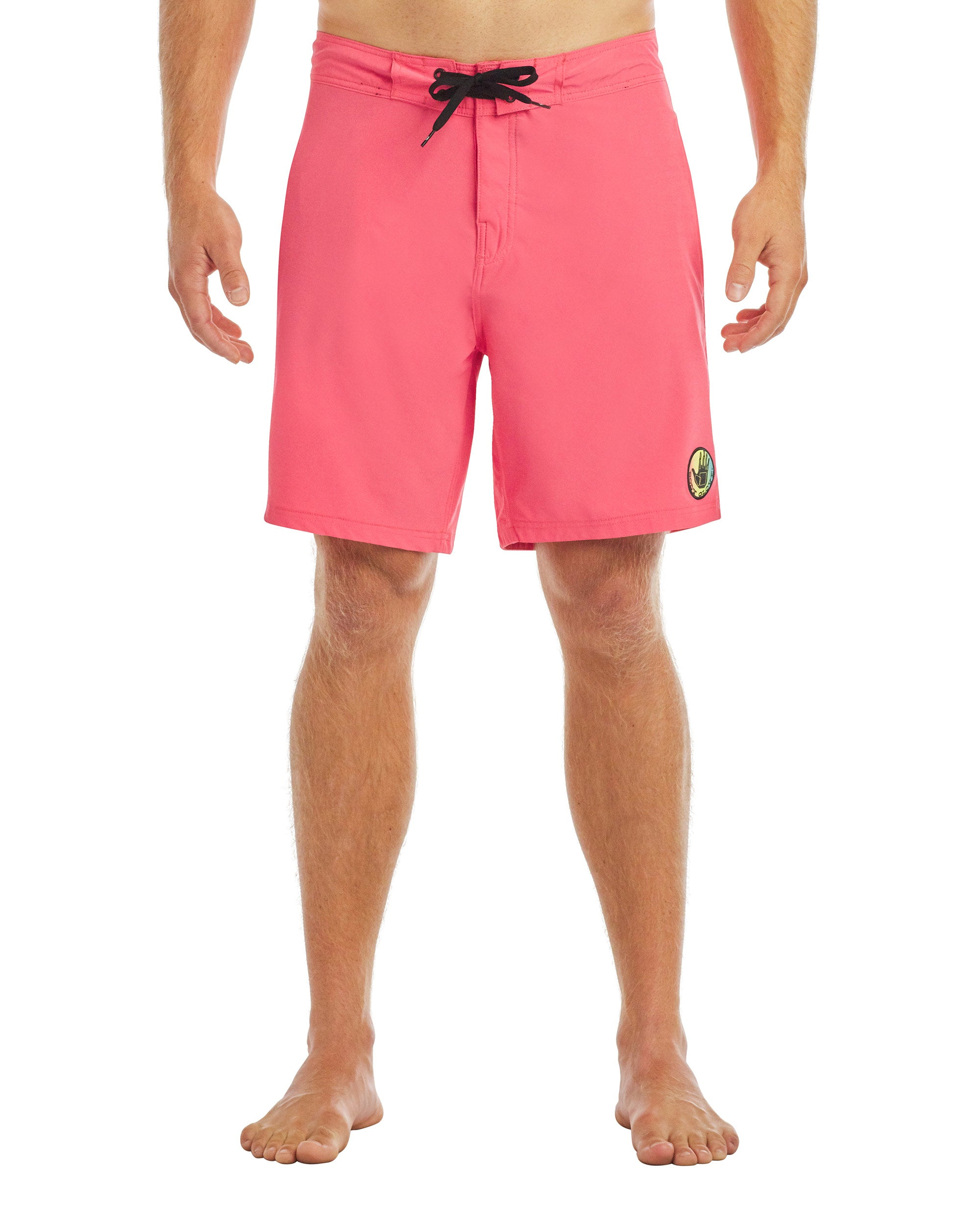 Men's Twin Spin 19-Inch Swim Short - Dusty Coral