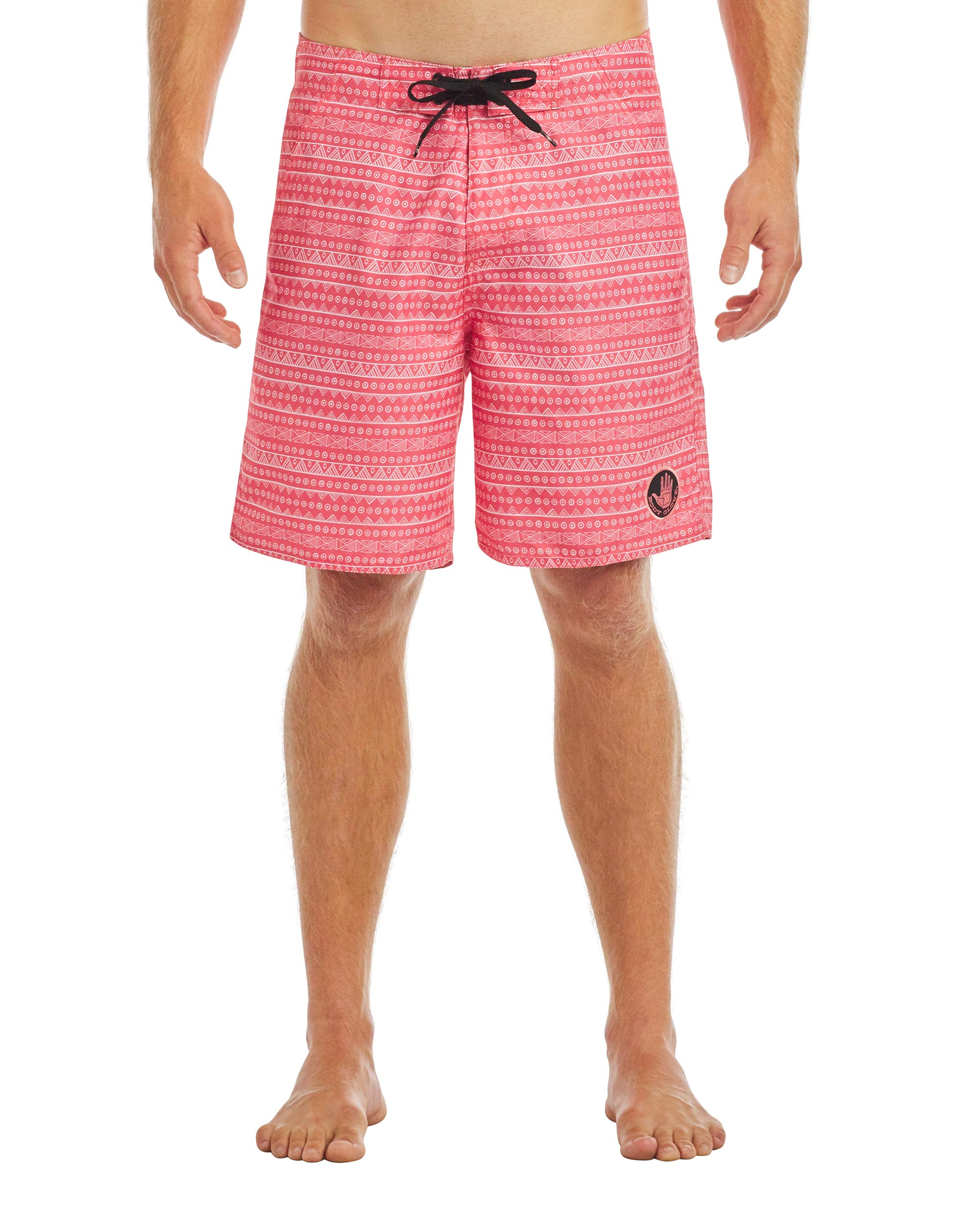 Men's Relaxo 19-Inch E-Board Swim Short - Dusty Coral