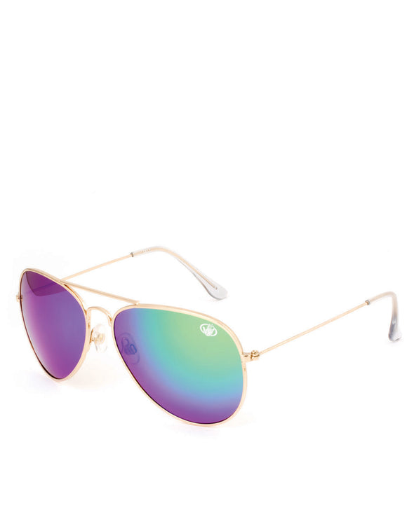 Women's BG7 Aviator Polarized Sunglasses - Green