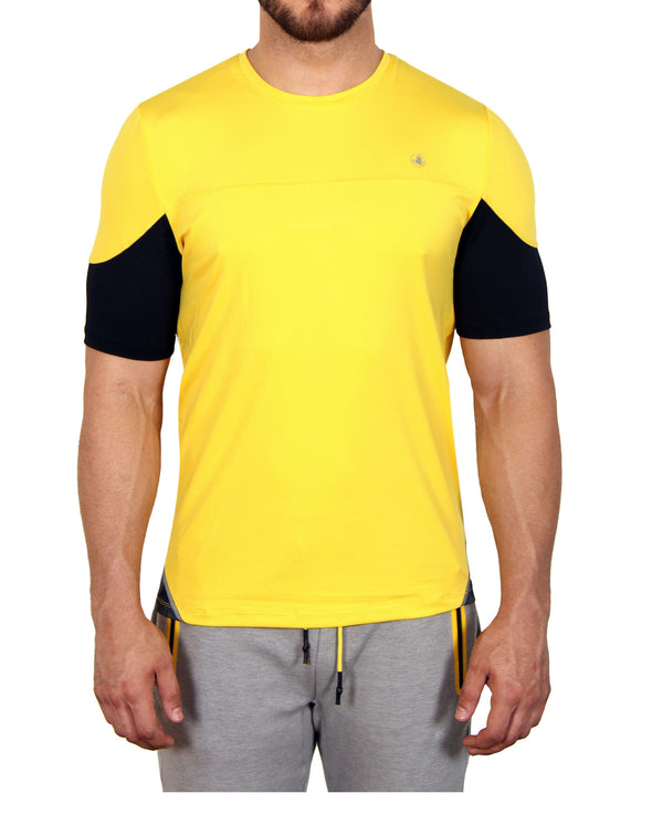 Men's Short-Sleeved Performance Tee - Yellow