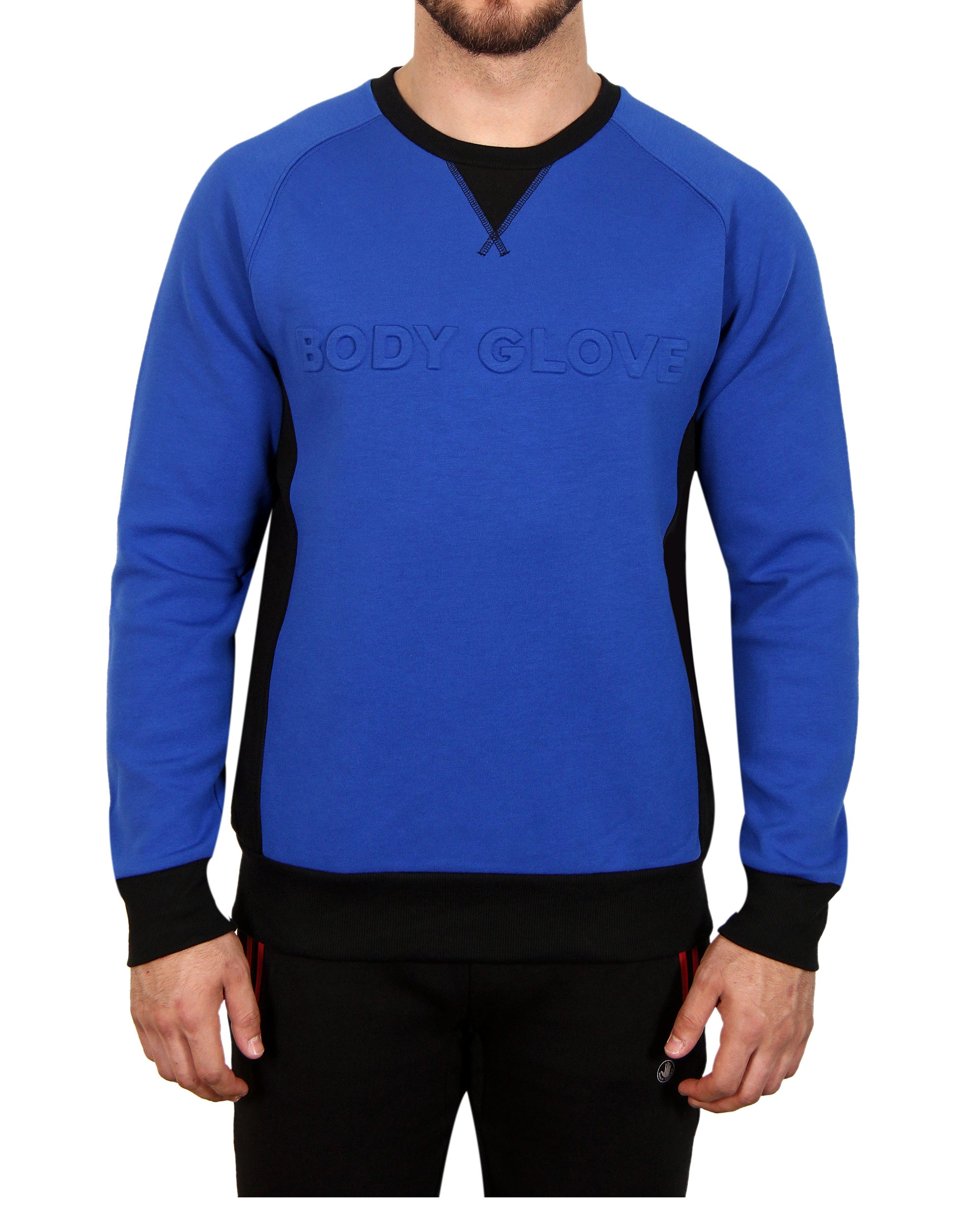 Men's Signature Crew Fleece - Blue