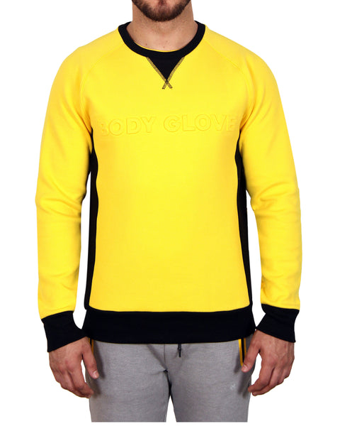 Men's Signature Crew Fleece - Yellow