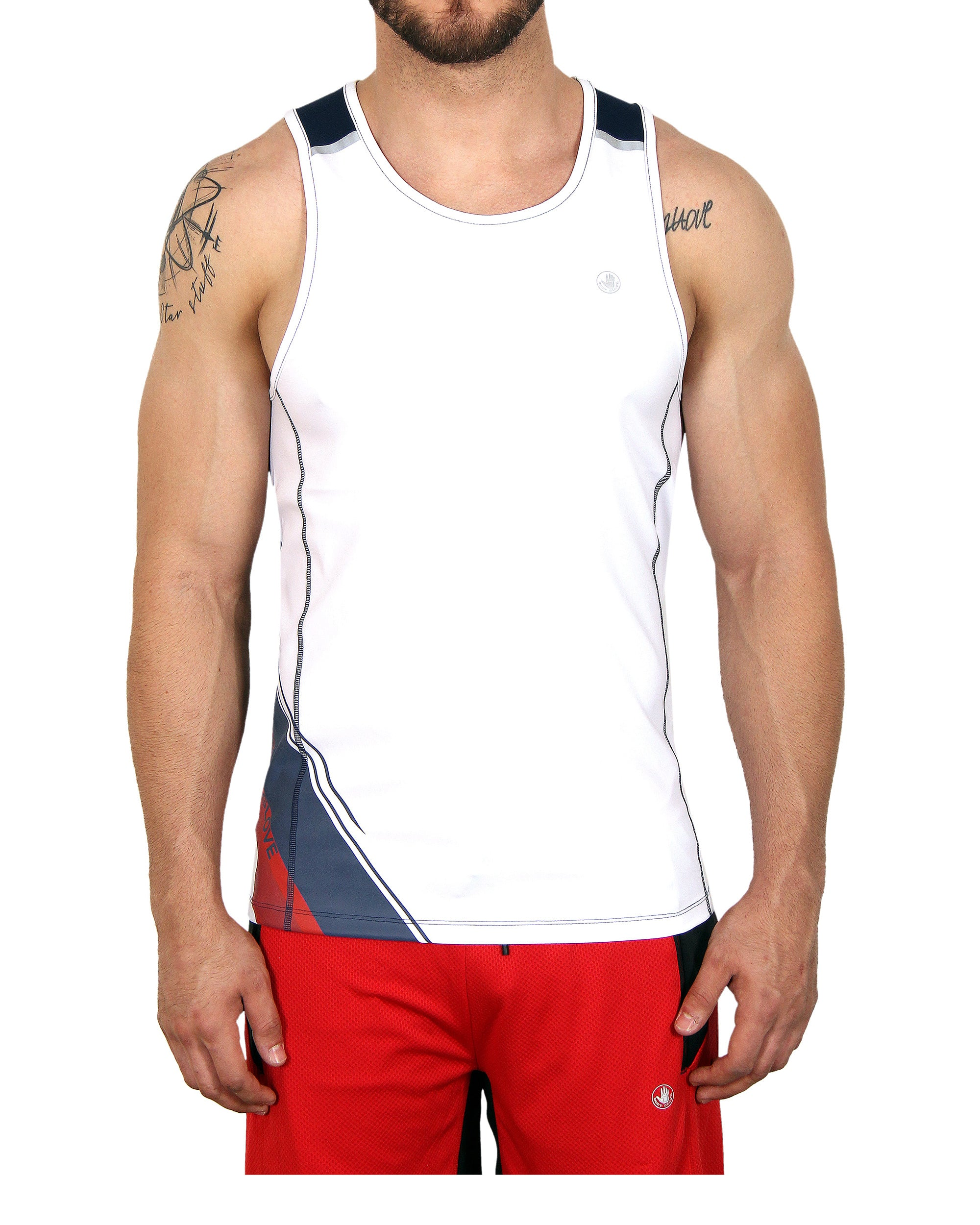 Men's Muscle Tee - White