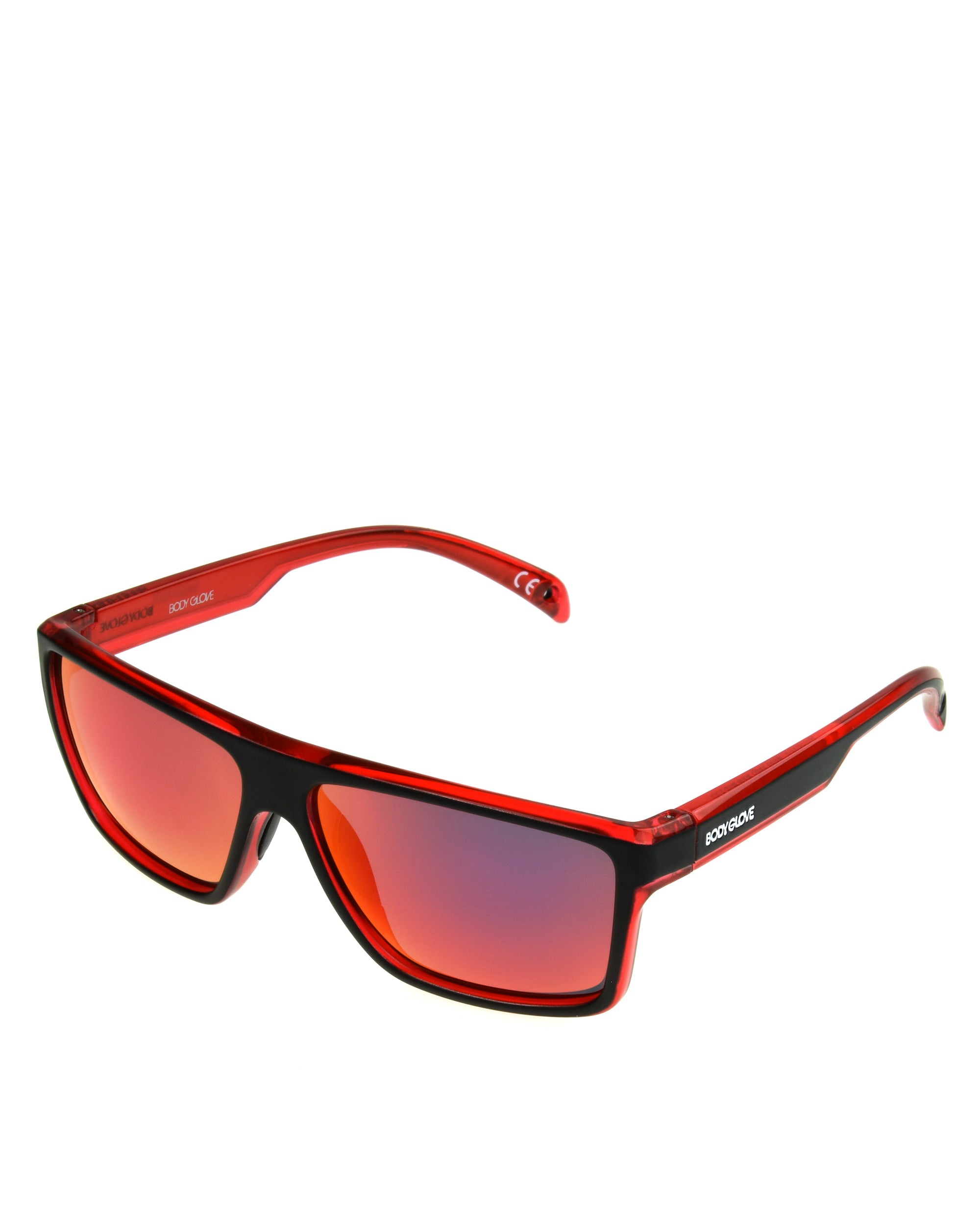 Men's BGFL1801 Sunglasses - Red