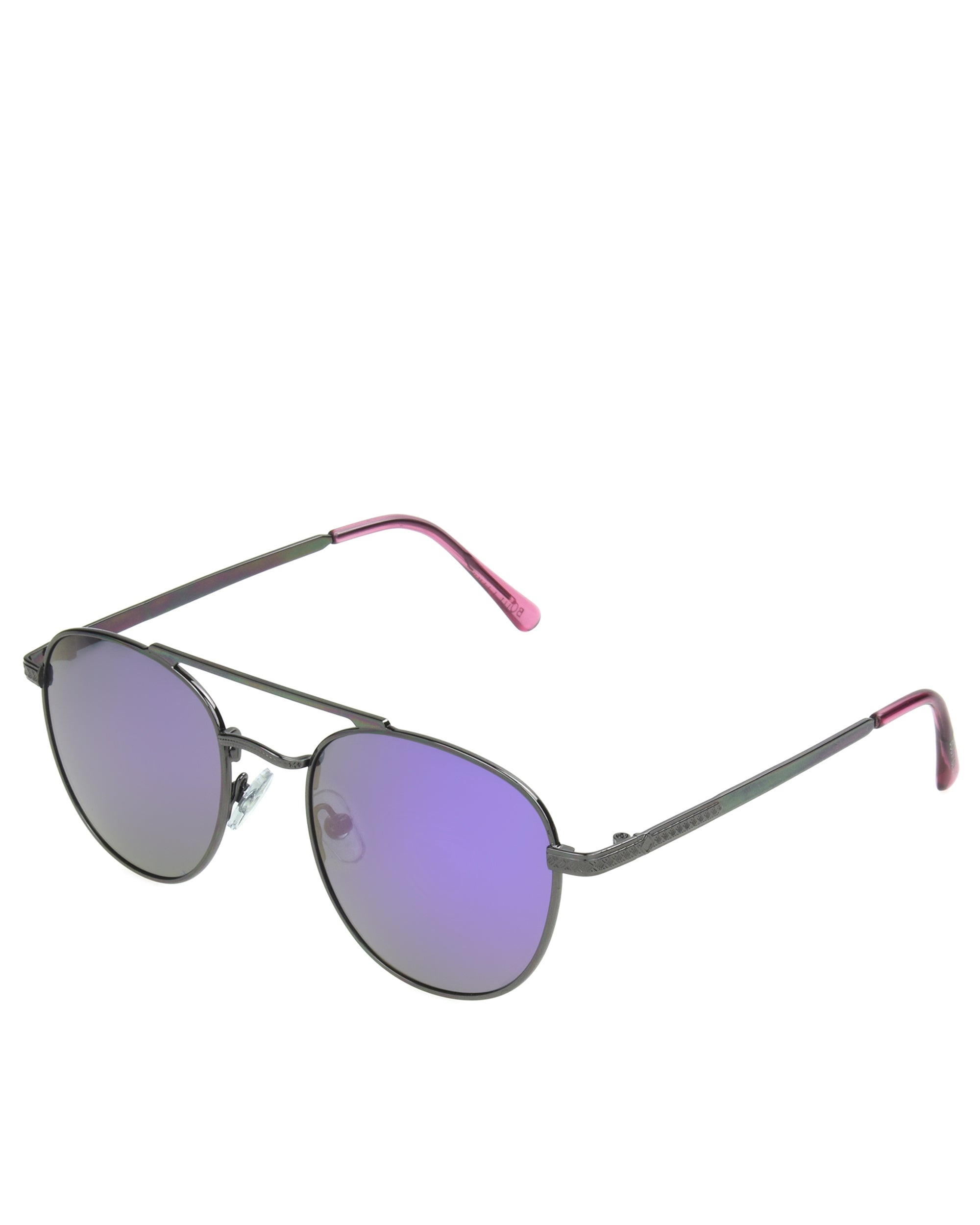 Women's BGL1915 Polarized Aviator Sunglasses - Gun Metal