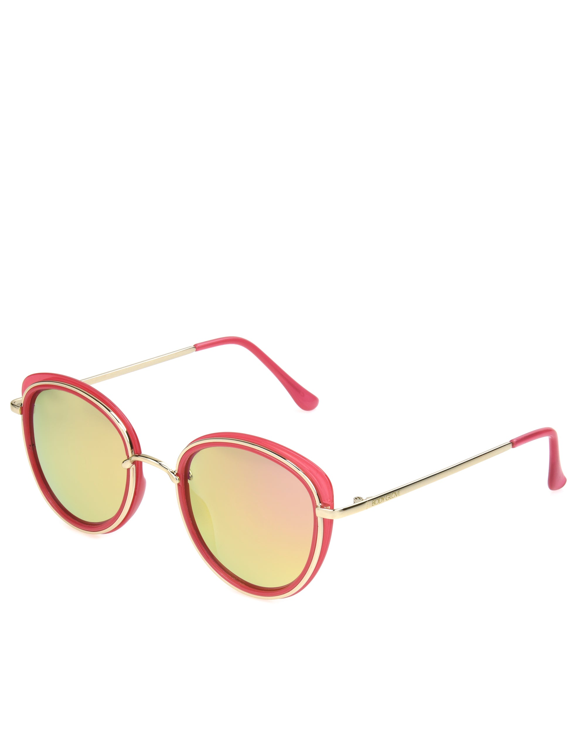 Women's BGL1919 Polarized Sunglasses - Gold/Pink
