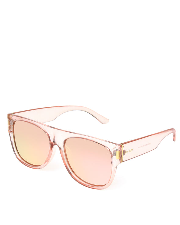 Women's BGL 2002 Shiny Peach Crystal Sunglasses - Peach