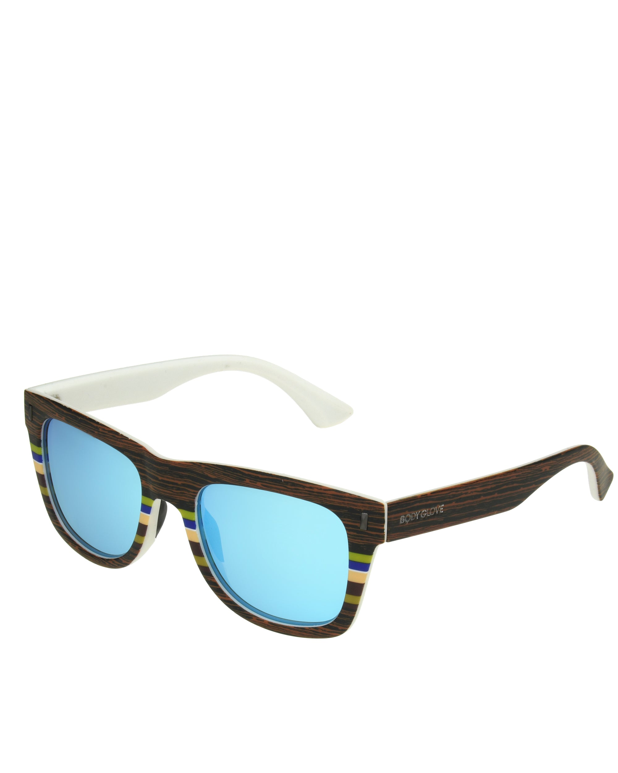 Men's BGM1091 Polarized Sunglasses - Matte Wood