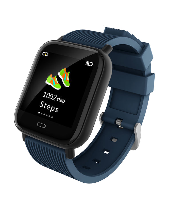 Mako 3.2 Smart Watch with Heart Rate & Blood Pressure - Night Blue