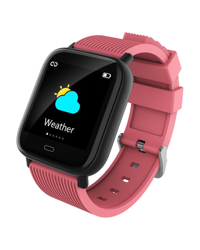 Mako 3.2 Smart Watch with Heart Rate & Blood Pressure - Pink